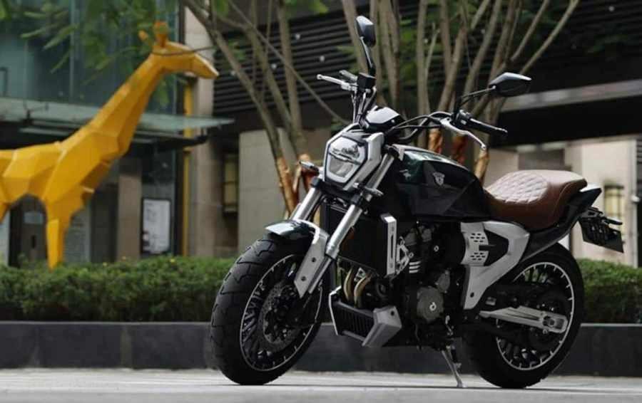 Mẫu xe mô tô mới đến từ Trung Quốc mang tên Xianglong JSX500i