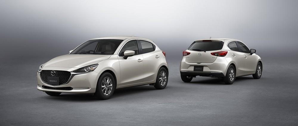 Mazda2 2021 được trang bị động cơ xăng 1.5L tiết kiệm nhiên liệu hơn