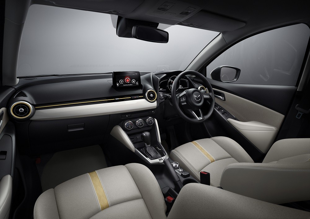 Mazda2 2021 có thêm hệ thống camera 360 độ mới