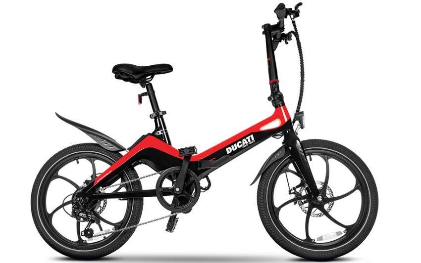 Xe đạp điện đến từ Ducati mang tên Ducati MG-20