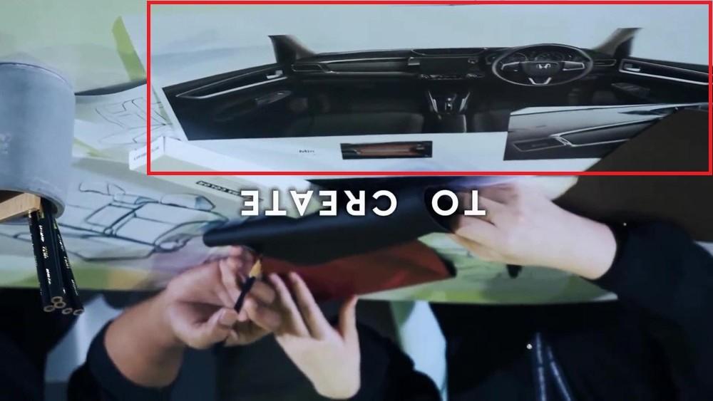 Hình ảnh hé lộ nội thất của Honda N7X