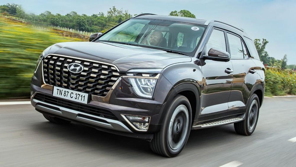 Hyundai Alcazar 2021 có giá bán khá mềm tại Ấn Độ