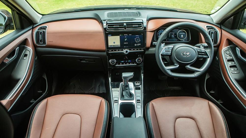 Nội thất bên trong Hyundai Alcazar 2021