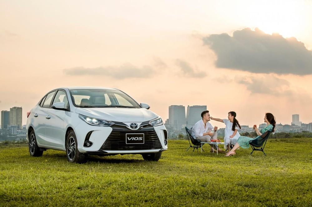 Trong tháng 5/2021, có tổng cộng1.789 chiếc Toyota Vios được giaođến tay khách Việt, giữ vị trí số 1 phân khúc sedan hạng B.
