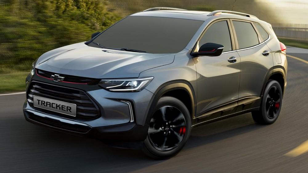Chevrolet Tracker 2021 ra mắt tại Philippines