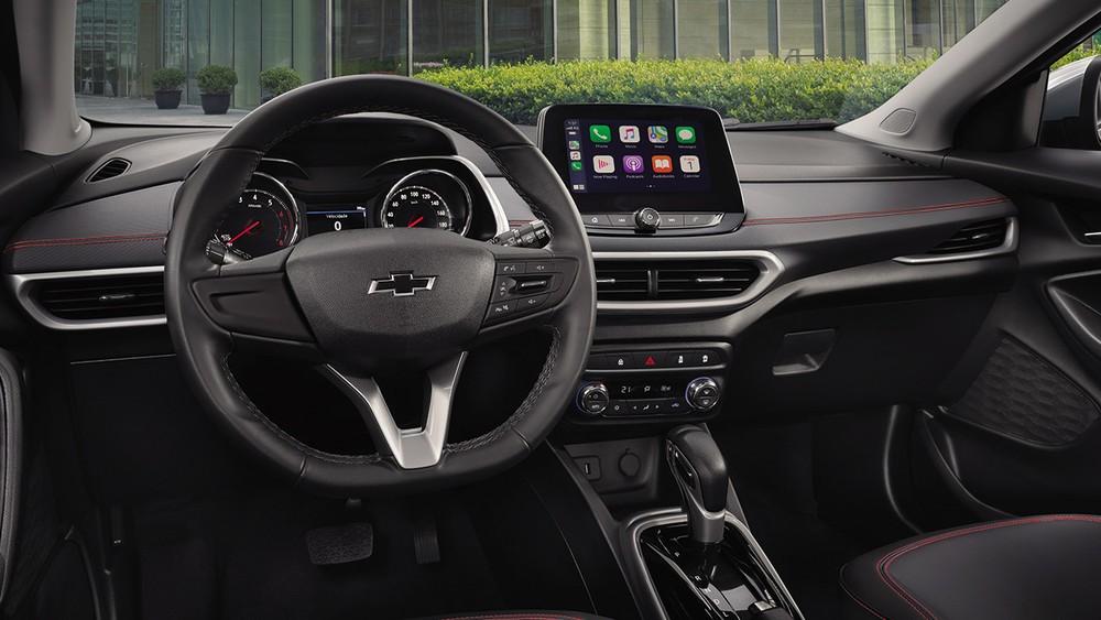 Nội thất bên trong Chevrolet Tracker 2021