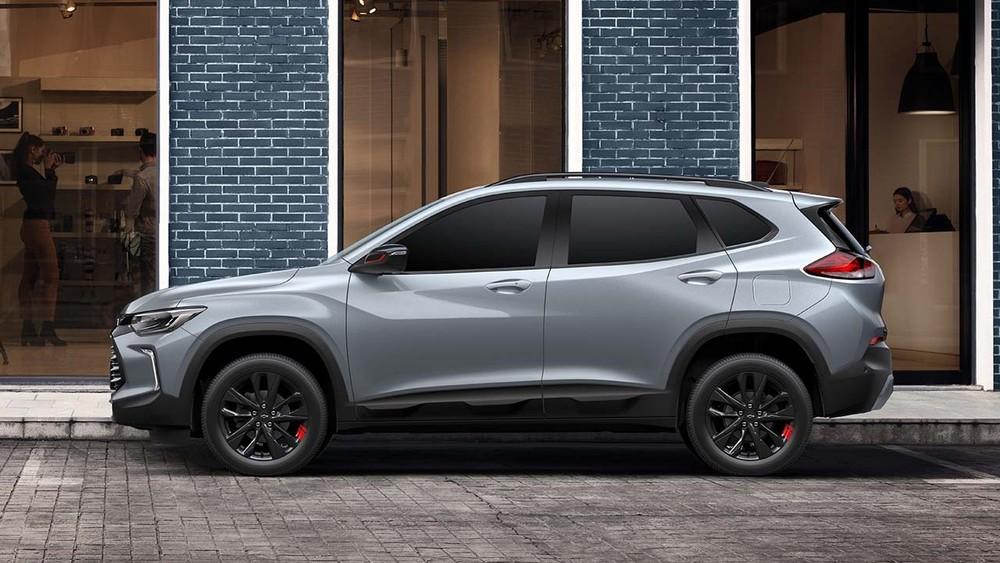 Chevrolet Tracker 2021 thuộc phân khúc SUV cỡ B