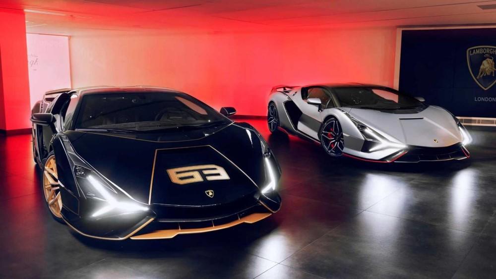 Các đại gia Anh sẽ sở hữu 3 trên tổng số 63 chiếc siêu xe Lamborghini Sian được sản xuất thế giới