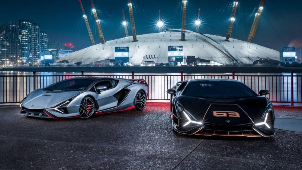 Lamborghini Sian có giá khởi điểm trên 3,6 triệu đô la