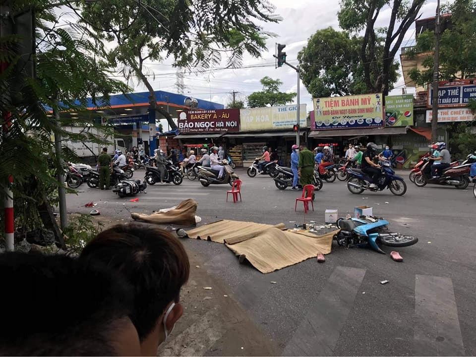 Vụ tai nạn khiến một cô gái tử vong tại chỗ