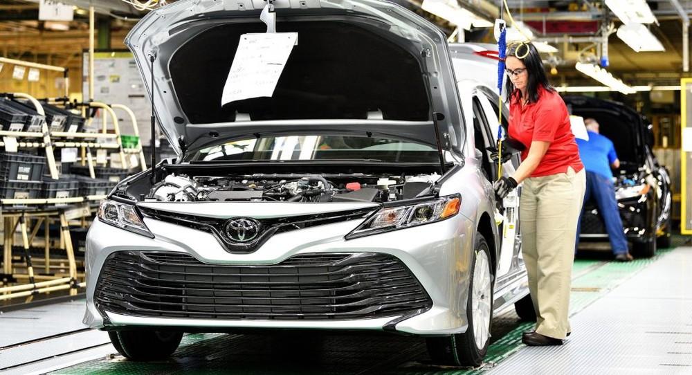 Trong quý II năm nay, Toyota là hãng ô tô thống trị tại thị trường Mỹ