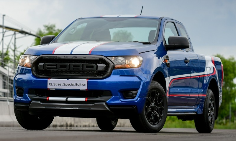 Chỉ có đúng 300 chiếc Ford Ranger XL Street 25th Anniversary Edition 2021 được sản xuất