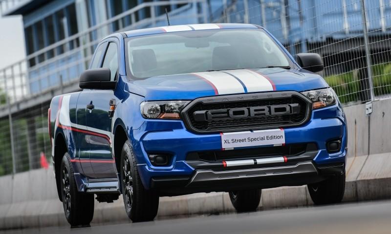 Ford Ranger XL Street 25th Anniversary Edition 2021 ra mắt thị trường Thái Lan