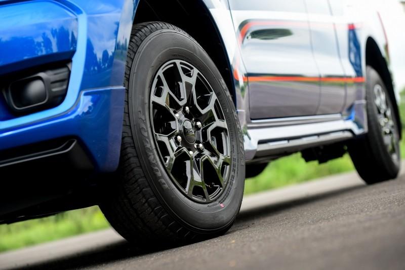Vành 16 inch của Ford Ranger XL Street 25th Anniversary Edition 2021