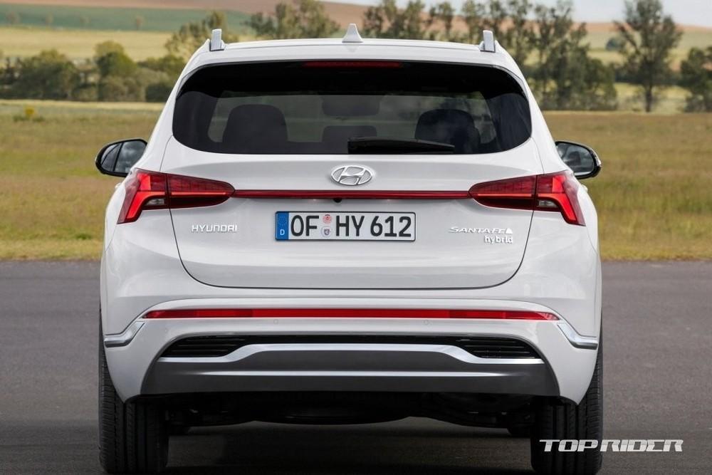 Hyundai Santa Fe Hybrid 2022 ra mắt thị trường nội địa Hàn Quốc