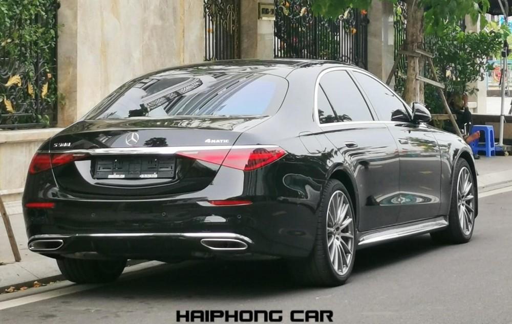 Thiết kế đuôi xe Mercedes-Benz S500 2021