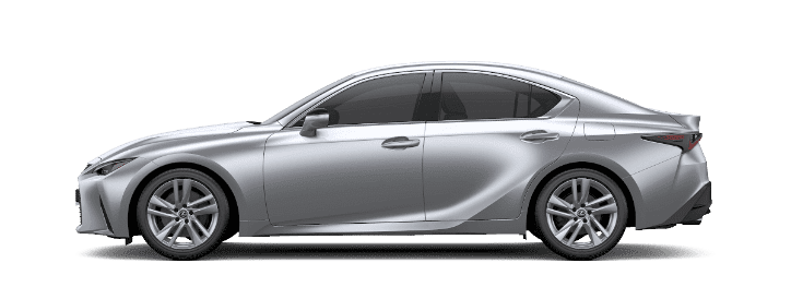 Lexus IS màu bạc