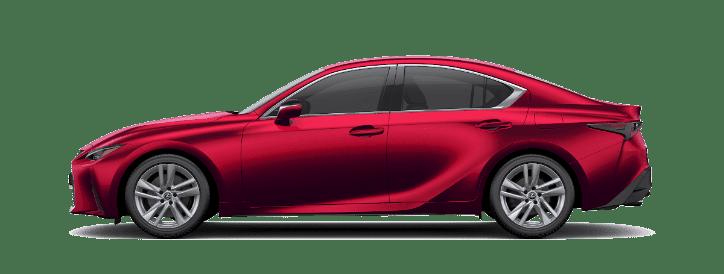 Lexus IS màu đỏ