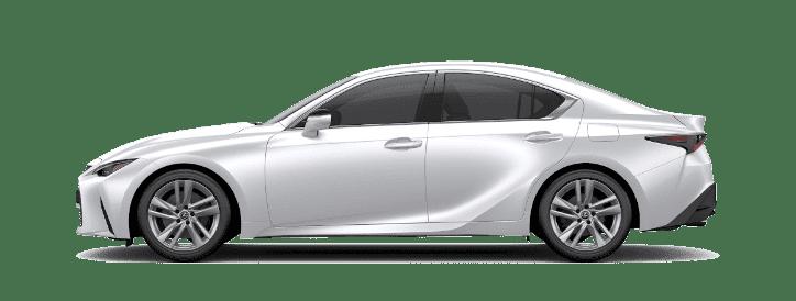 Lexus IS màu trắng