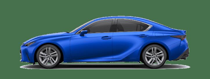 Lexus IS màu xanh