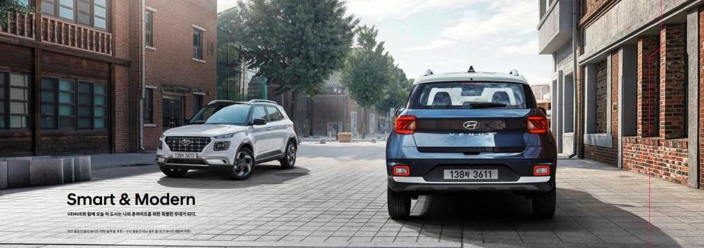 Bản Smart và Modern của Hyundai Venue 2022