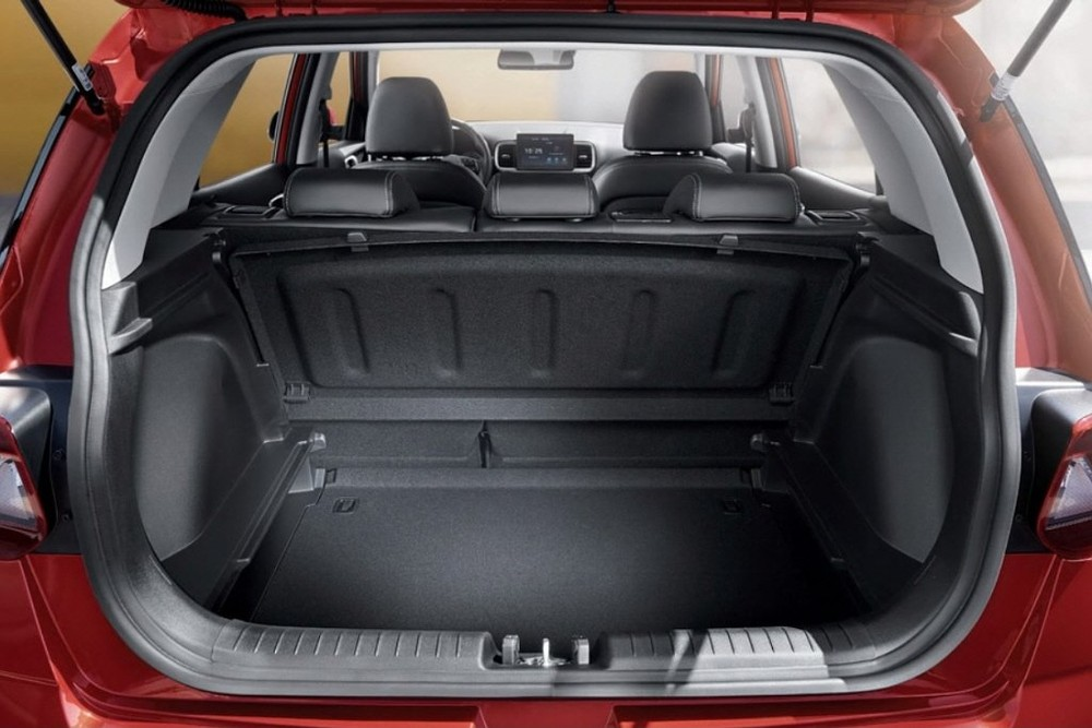 Khoang hành lý của Hyundai Venue 2022