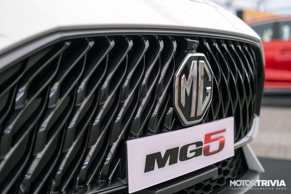 Lưới tản nhiệt của MG5 2021