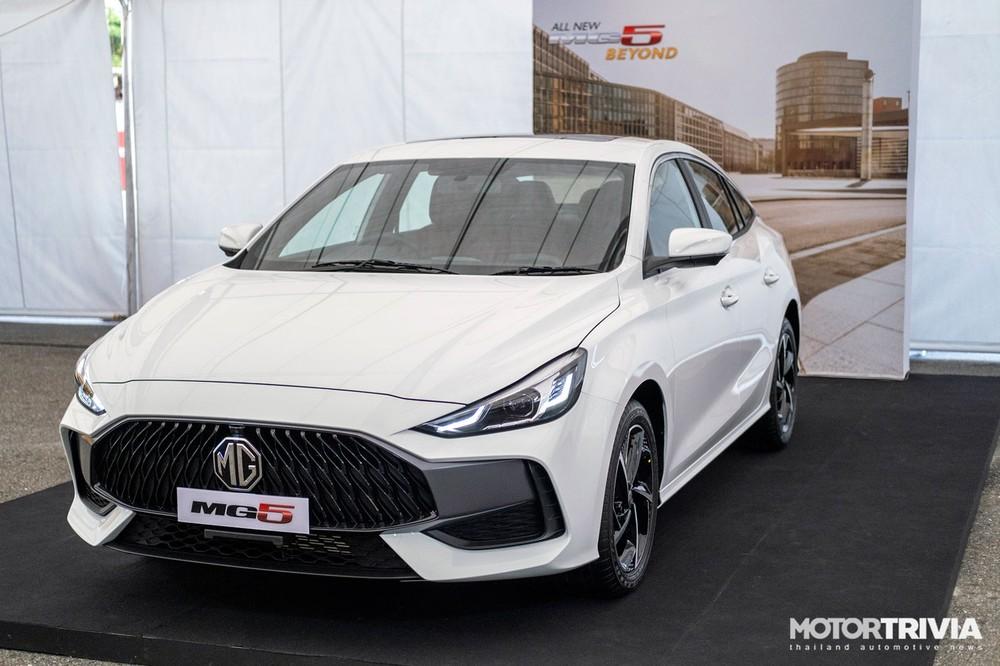 Thiết kế đầu xe của MG5 2021