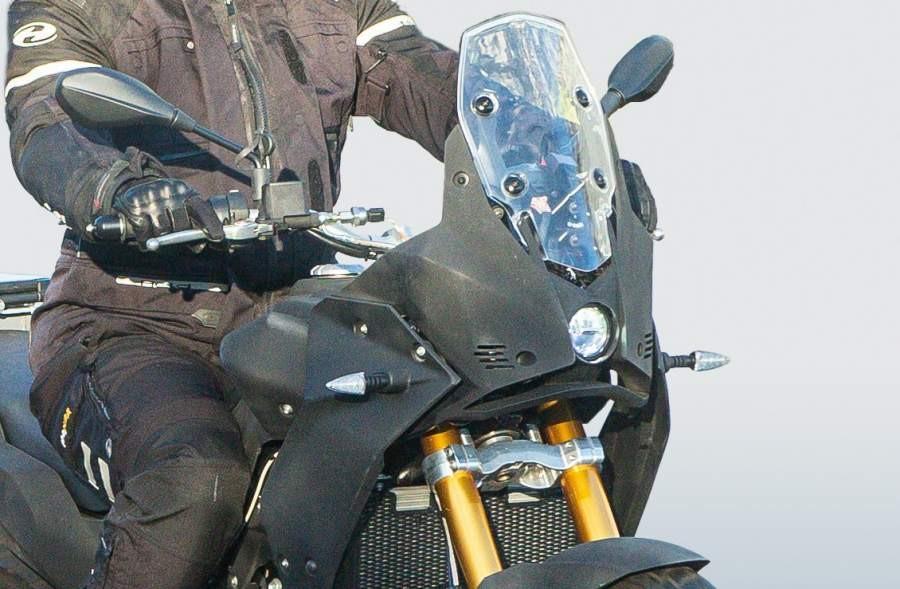 Hình ảnh được cho là của Aprilia Tuareg 660 hoàn toàn mới đang đượcchạy thử