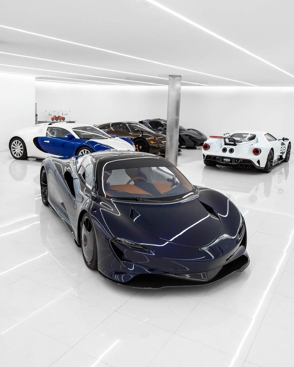 Siêu xe McLaren Speedtail Hermes Edition mới về garage của ông trùm nhà đất