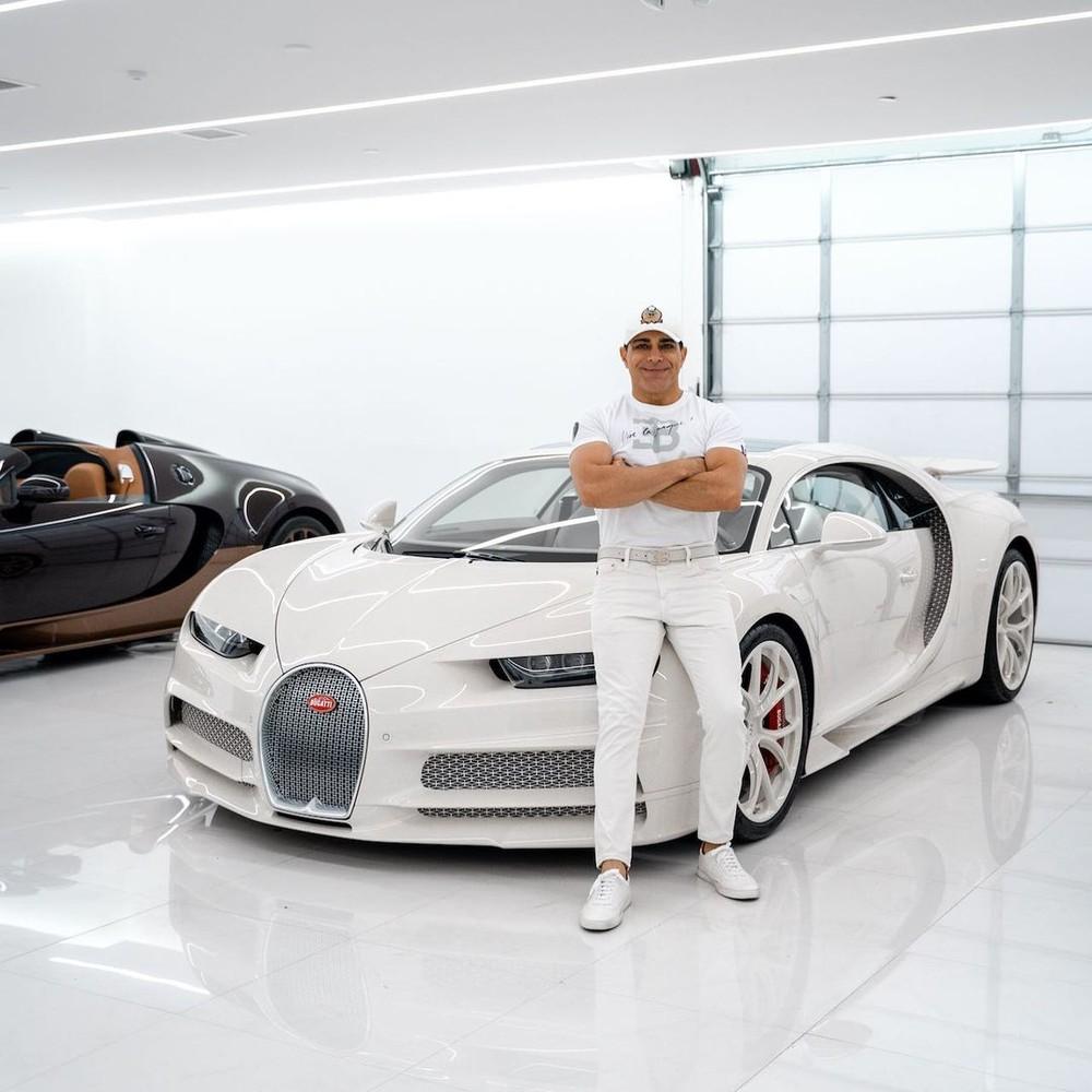 Siêu xe Bugatti Chiron Hermes Edition của ông Khoshbin