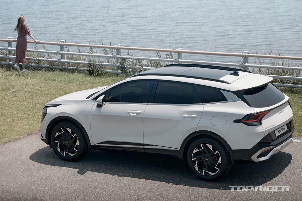 Kia Sportage 2022 có nhiều trang bị an toàn hiện đại