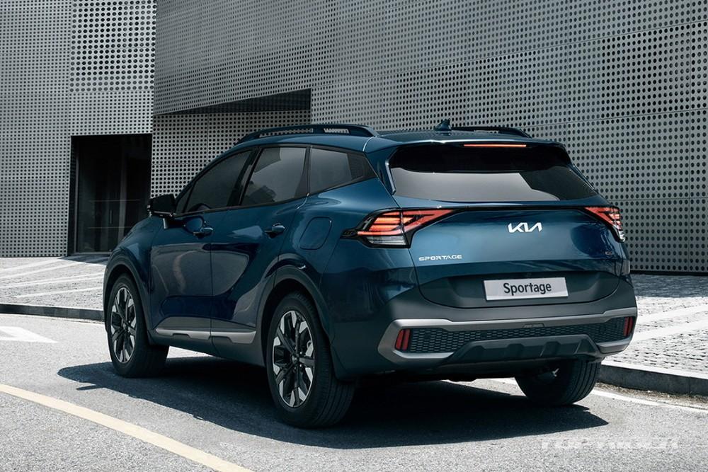 Kia Sportage 2022 hiện tại chỉ có 2 tùy chọn động cơ