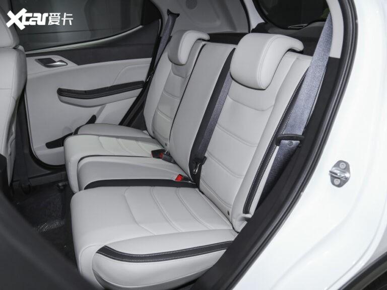 Ghế sau của BYD Yuan Pro