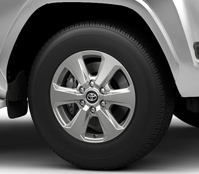 Mâm hợp kim 18 inch của Toyota Land Cruiser 2021