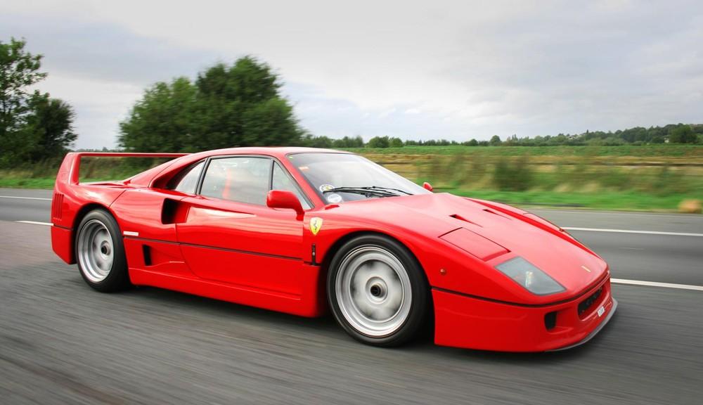 Diện mạo của siêu xe Ferrari F40