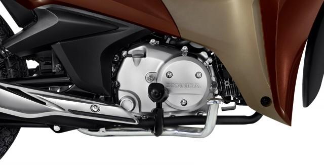 Khối động cơ trên Honda Biz 2021 giống với Honda Future 125