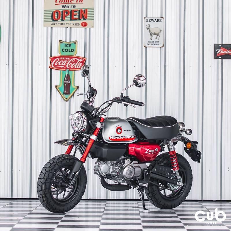 Honda Monkey Johney Red Edition sẽ được bán ra tại Cub House với giá gần 80 triệu đồng