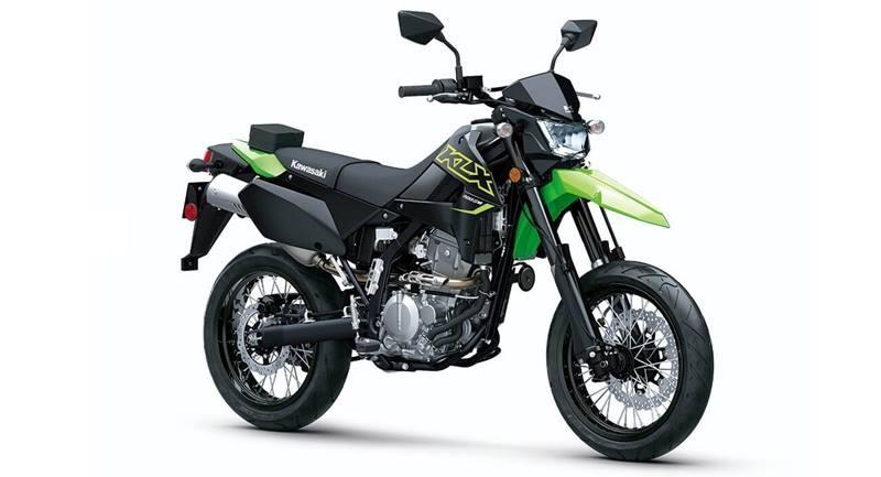 Màu mới trên Kawasaki KLX300SM