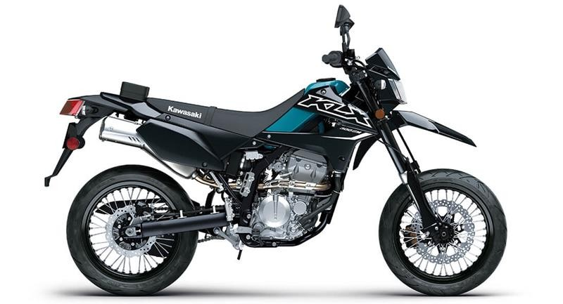 Kawasaki KLX300SM 2022 ra mắt tại Mỹ