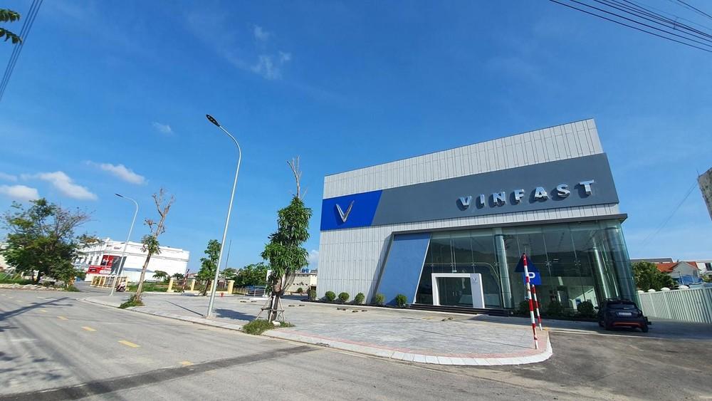 Hình ảnh showroom mới của VinFast được cho là đặt tại Cẩm Phả, Quảng Ninh.