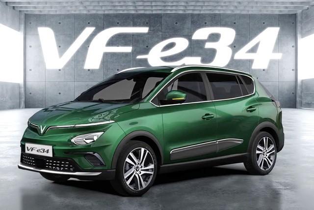 VinFast VF e34 được định vị ở phân khúc C-SUV, có giá bán lẻ đề xuất là 690 triệu đồng.