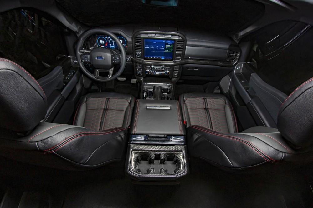 Nội thất của Shelby F-150 2021