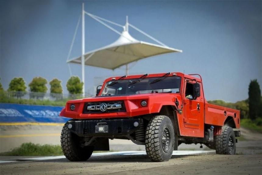 Dongfeng Fearless M50 2022 dùng động cơ diesel 4.0L