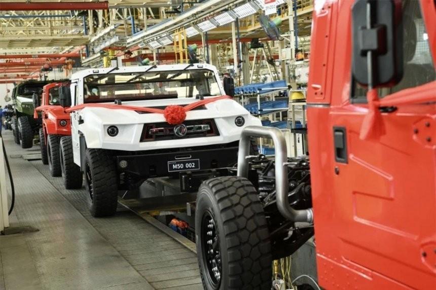 Dongfeng Fearless M50 2022 xuất xưởng tại Trung Quốc