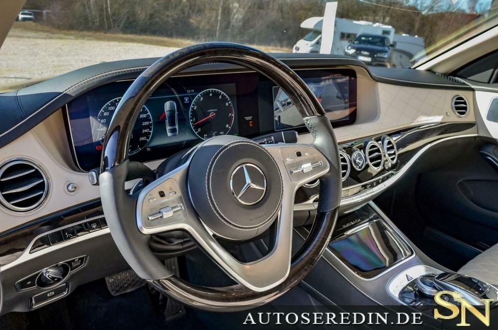 Nội thất bên trong chiếc Mercedes-Maybach S 650 Pullman Guard