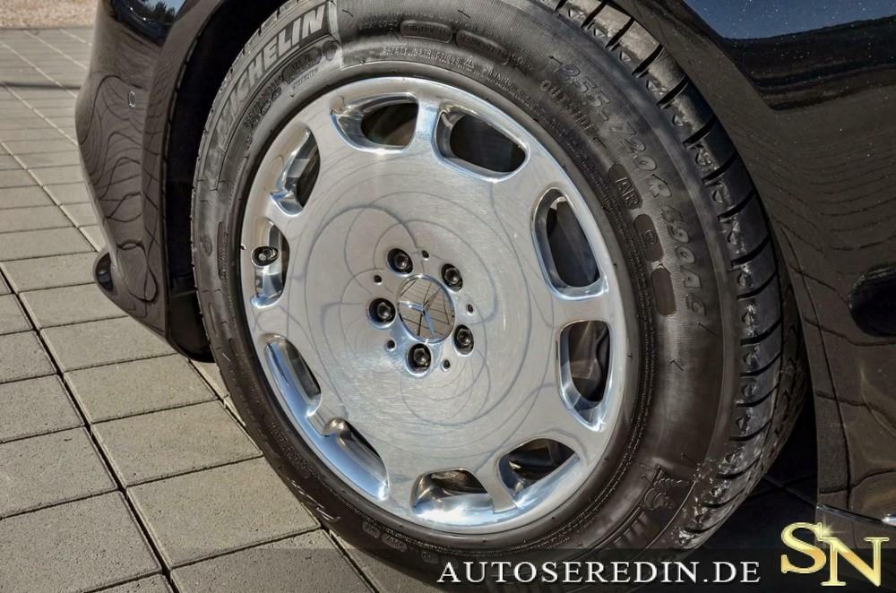 Bộ vành đậm chất cổ điển của Mercedes-Maybach S 650 Pullman Guard