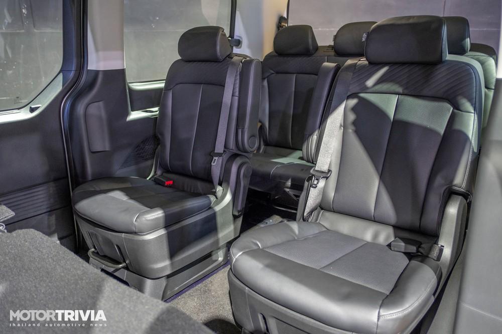 Hyundai Staria 2021 tại Thái Lan được trang bị 11 chỗ