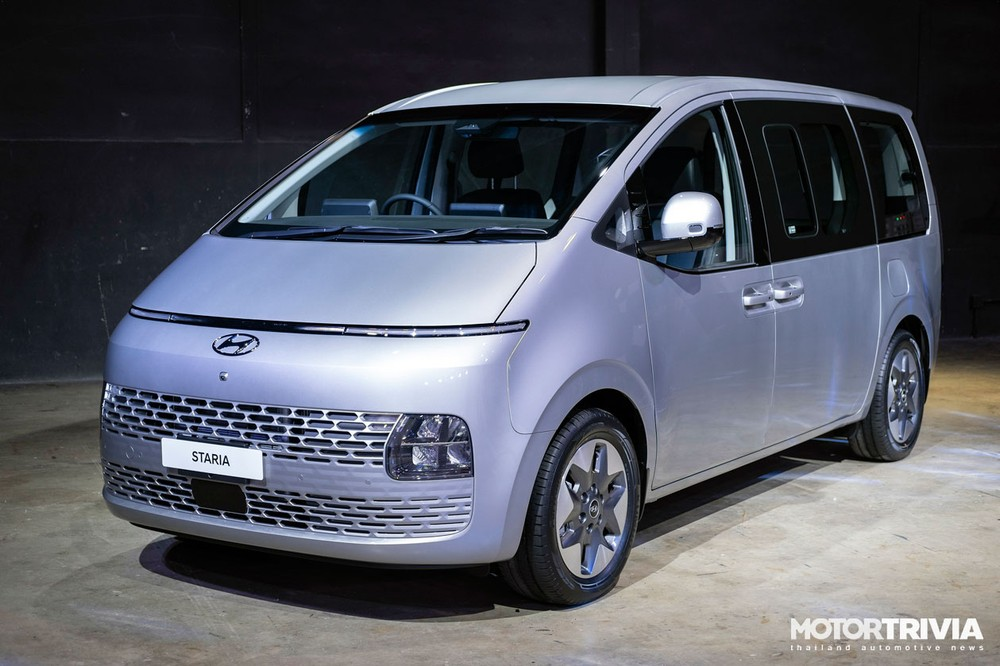 Hyundai Staria 2021 lấy cảm hứng thiết kế từ phi thuyền