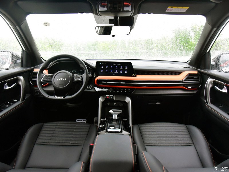 Nội thất bên trong Kia Sportage Ace 2021 bản GT-Line